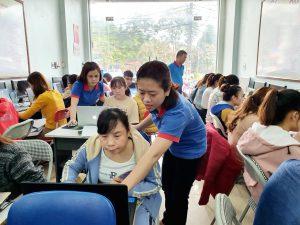 Lớp học tin học văn phòng ở Thanh Hóa