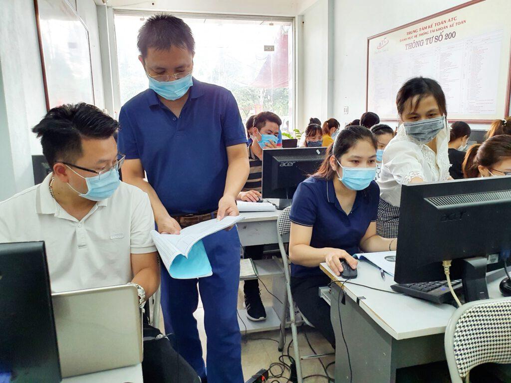 Học kế toán phần mềm ở Thanh Hóa